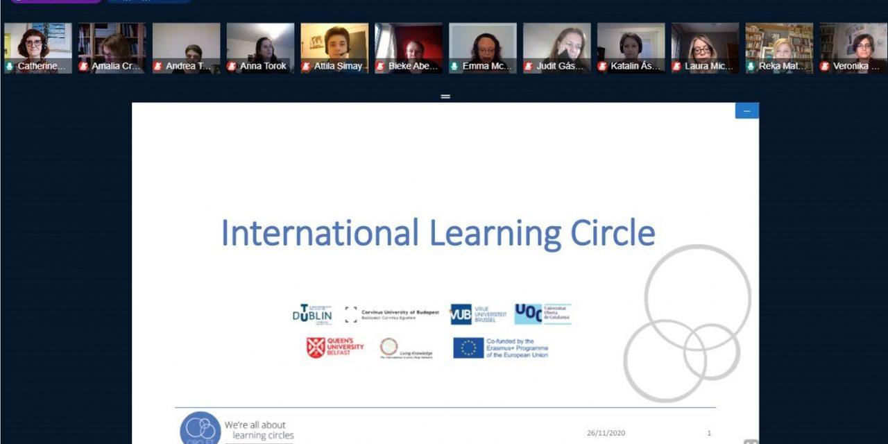 Kick-off of CIRCLET's first international learning circle