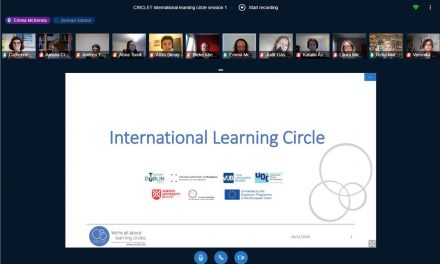 Kick-off of CIRCLET's first international learning circle